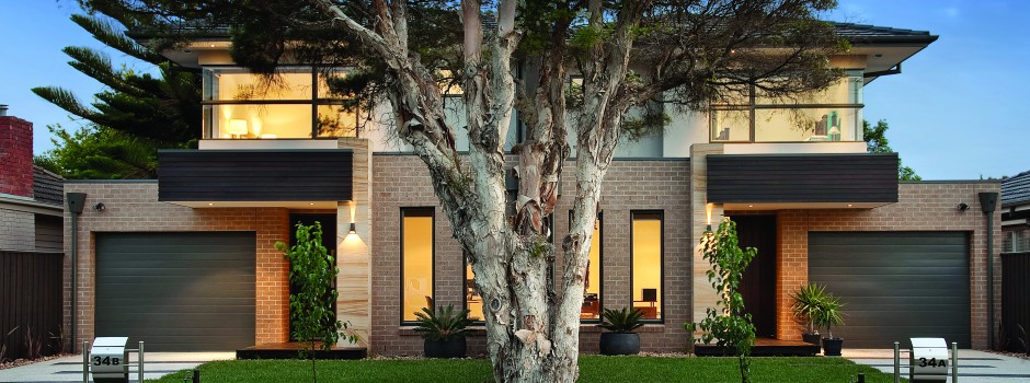 Patterson homes townhouse multi unit builders for Best house designs melbourne
